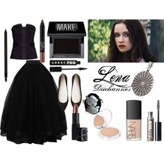 """Beautiful Creatures: Lena Duchannes Inspired Outfit and Makeup"" by vir-yap on Polyvore"