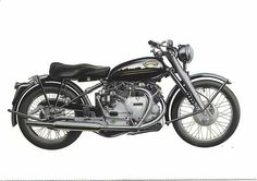 1950 Vincent Black Shadow motorcycle - Google Search
