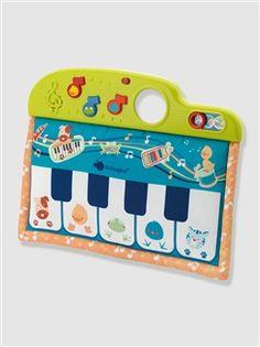 Piano en tissu BabyMusic  - vertbaudet enfant