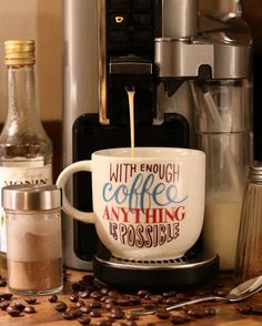 Coffee love coffeeeeee Coffee Love, Coffee Shop, Coffee Cups, Chocolate Sweets, Coffee Culture, Tea Time, Croissants, Mugs, Tableware