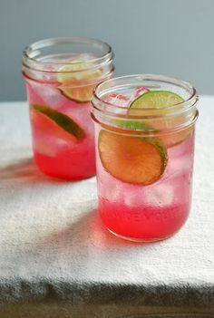 concord lime vodka collins // brooklyn supper