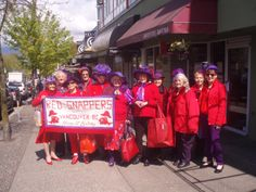12th chapter birthday and 16th Red Hat Society birthday