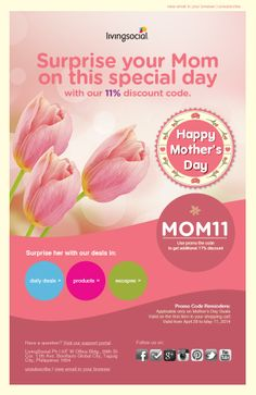 Ensogo-LivingSocial's Mother's Day Campaign