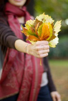 Leaf bouquet