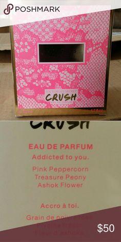 NWT VICTORIA'S SECRET CRUSH PERFUME NWT Victoria's Secret Crush perfume pink peppercorn treasure peony and ashok flower Victoria's Secret Other