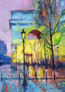 Paris Arc de Triomphe (Yuriy Shevchuk)