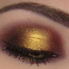 Golden Sunset Look