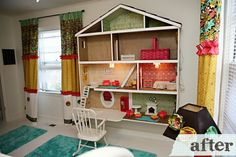doll house bookcase