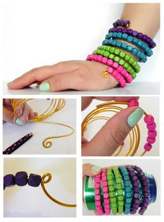 Pandahall.com offers you jewelry making ideas and easy picture instruction to help you to finish this beaded bracelet.