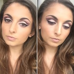 Beauty By Sophie: Freelance Makeup Artist for bridal and occasion makeup in North London. Freelance Makeup Artist, Neutral Palette, Cut Crease, Mac, Eyes, Beauty, Eye Makeup, Beauty Illustration, Cat Eyes