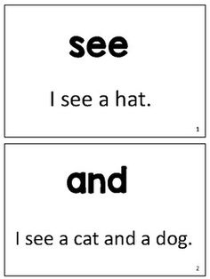 "Here is a set of 66 cards that are designed to improve the students' sight word recognition, reading fluency, and self-confidence. The students will read the sight words both in isolation and in the context of a sentence. Each sentence contains a ""target"" sight word and a CVC word that the students will have to sound out or"