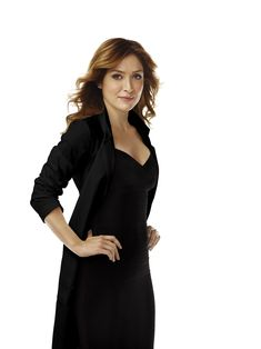 Sasha Alexander as Maura Isles in Rizzoli & Isles TV Series.  She was also Kate on NCIS and many people may not know that she is married to Sophia Loren's son.