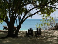 View from villa, Denis Island, Seychelles