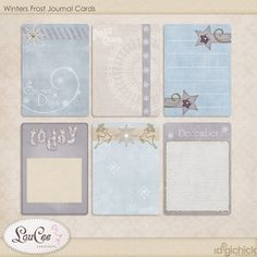 Winters Frost, a Christmas Fairy, coupon and a freebie | LouCee Creations