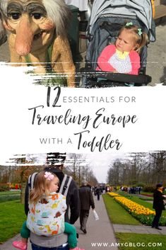12 Essentials for Traveling Europe with Toddlers - These are the things that you don't want to leave home without - Amy's Balancing Act