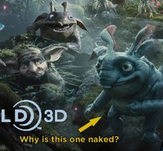 New 'Maleficent' Banner Shows Off Some Jim Henson-esque Creatures. Who are these woodland peoples and why do they look so huggable?!