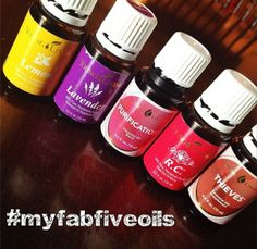 Favorite 5 Young Living Essential Oils