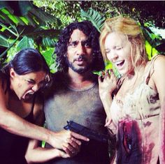 Ana-Lucia, Sayid, & Shannon | LOST behind the scenes