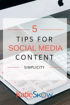 Creating consistent, successful social media content that converts doesn't have to be difficult or take over your life. It's about knowing your goals and setting up systems that work for you, so you can rinse and repeat. Here are 5 tips for social media c