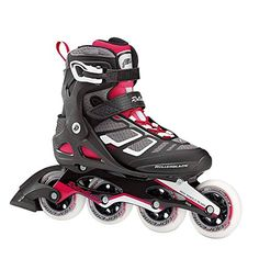 Rollerblade Macroblade 90 W Performance by SG9 Bearings Inline Skates BlackCherry US Womens 9 ** Click on the image for additional details. (This is an affiliate link) #InlineSkating