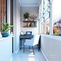 В традиционном стиле, Space Options , Лоджия/Балкон, Дизайн интерьеров Formo.ua