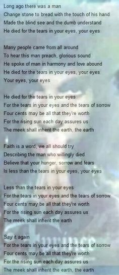PRINCE ROGER NELSON - 4 the tears in your eyes. USA for Africa.
