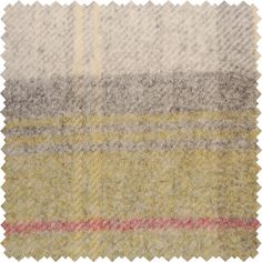 Sanderson Woodford Plaid is the largest design woven on a multi-coloured warp with a different striped pattern in the weft. This style is known as a Madras Check and creates a less formal look than traditional tartans. Shown here in: Olive/Catkin.