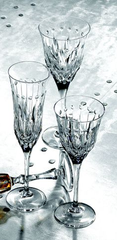 Varga Renaissance Clear Wine, Flute, and Water
