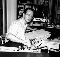 Steve Ditko.  At the beginning of the Silver Age of comics, DC employed almost all the artists I liked.  All Marvel had going for it was Jack Kirby and Steve Ditko.  But that was enough.  Married to Stan Lee's dramatic writing and refreshing characterization, they soon had me looking forward to each issue of Fantastic Four and Spider-Man with an anticipation I had never felt for DC.  -Ed Newsom