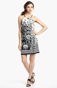 LABEL by five twelve Floral Print Cutaway Dress available at #Nordstrom