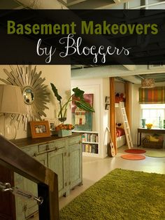 Remodelaholic | Home Sweet Home on a Budget: Bloggers Finish Their Basements