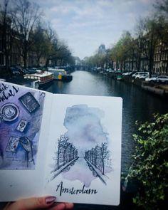 Reposting @karolinatrhonova: Amsterdam . . . . . . . . . . #architecture #art #sketch #sketchbook #drawing #draw #waretcolour #watercolorart #illustration #doodle #instaart #instaartist #amsterdam #landscape #artwork #myart #myillustration