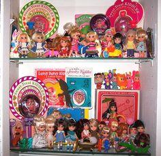 All the Little Kiddles Dolls!