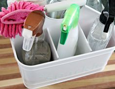 122Everything Under the Kitchen Sink  UTENSIL CADDY FROM TARGET FOR CLEANING CADDY