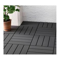IKEA RUNNEN floor decking, outdoor Floor decking makes it easy to refresh your terrace or balcony.