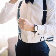Bow tie and suspenders game on point