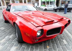 "thewouldbephotographer: "" Pontiac Firebird…with a little extra fire. #Pontiac #pontiacfirebird #firebird #americancars #beautifulcar #hotrod #customcar #edinburgh #classiccar #cars #carporn..."