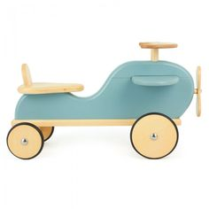 Moulin Roty Blue Wooden Plane