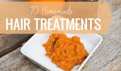 10 homemade hair treatments
