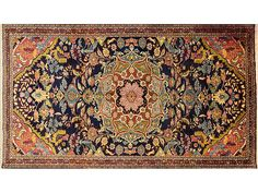 Persian Hand Knotted Bakhtiari Carpet, 287 x 165
