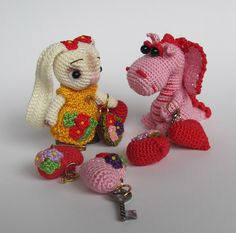 These are so cute                                        #amigurumi #crochet