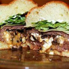Texas Stuffed Grilled Burgers