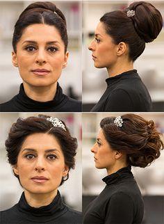 orientalische Brautfrisur & Trend 2015 von Hair&Beauty Hagemann. Friseur Bonn.