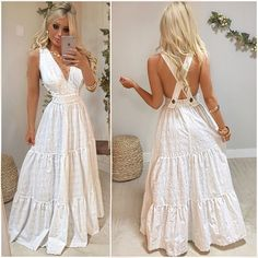 Casual Dresses, Fashion Dresses, Prom Dresses, Formal Dresses, Outfit Posts, Marie, Party Dress, White Dress, Cute Outfits