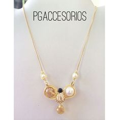 1c1af7eea285 Handmade  pgaccesorios  chapadeoro  cadenita  collar  necklace   handmadejewerly  jewerly  hechoamano  joyeria  piedras naturales   handmadenecklace