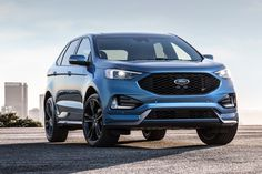 2019 Ford Edge ST test drive: Who needs sports cars? Who needs sports cars? Ford Edge Suv, New Ford Edge, Ford Explorer Sport, Sport Trac, Bmw X3, Mercedes Benz, Diesel, Audi, Best New Cars
