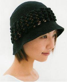 Ivelise Feito à Mão: Chapéu De Crochê                              …