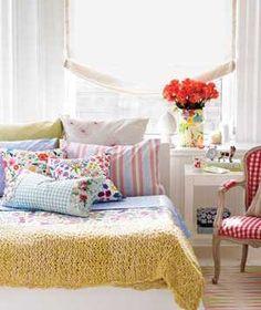 Hoy te daremos algunos consejos y fotos que pueden inspirarte en el momento de conseguir una alegre habitación.