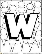Worksheet Village: Alphabet Coloring Pages