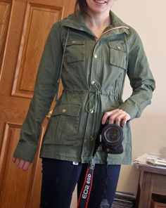 Pomelo Chaplin Hooded Anorak Cargo Jacket - need an anorak just like this one. Please send me one Stitch Fix!